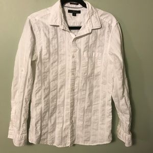Marc Anthony White Slim Fit Button Up Size Medium